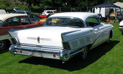 1958 Buick Limited Riviera rear