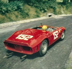 Willy Mairesse & co win 1962 Targa Florio in 246 SP s/n 0796