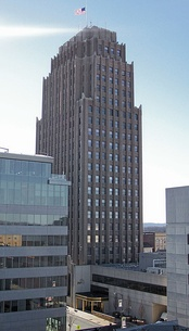 The PPL Building is the tallest building in Allentown, Pennsylvania.