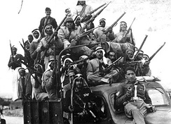 Arab military volunteers in 1947