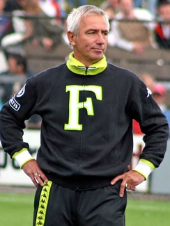 Van Marwijk won the UEFA Cup (now called the Europa League) with Feyenoord in 2002.
