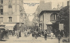Rue Sainte-Catherine in 1905