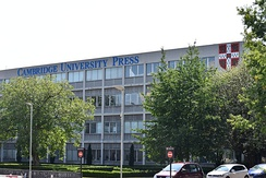Cambridge University Press head office in Cambridge