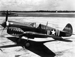 A USAAF Curtiss P-40K-10-CU, serial number 42-9985, c. 1943.
