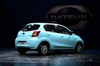 Datsun Go launch in New Delhi, India (rear)