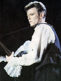 Bowie in Chile during the Sound+Vision Tour, 1990