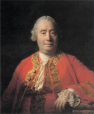 David Hume, an important figure in the Scottish Enlightenment.