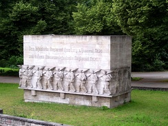 Memorial of the Reserve-Infanterie-Regiment Nr. 76 in Hamburg