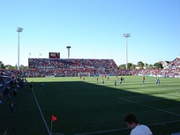 Hindmarsh Stadium, home ground of Adelaide United