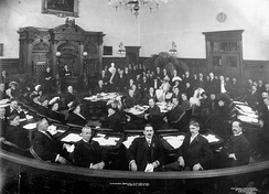 Meeting of the Toronto City Council in January 1911.