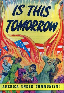 Cover to the 1947 propaganda comic book Is This Tomorrow