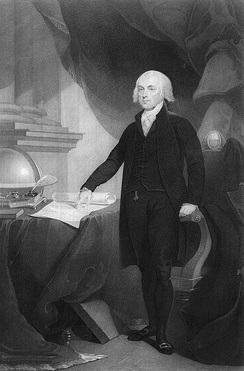 James Madison, the author of the Virginia Plan