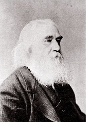 Lysander Spooner (1808–1887), an individualist anarchist who wrote The Unconstitutionality of Slavery (1845).