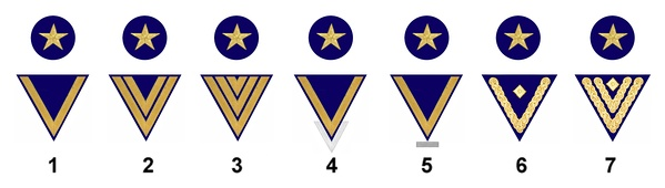 The rating path of a German seaman in the rate of boatswain (Bootsmann)