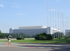 Mansudae Assembly Hall, seat of the Supreme People's Assembly