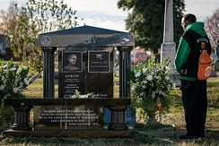 Barry's memorial at Congressional Cemetery