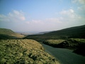 Heading into West Yorkshire at Widdop Reservoir