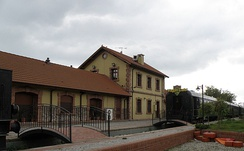 An old railway station in Izmit
