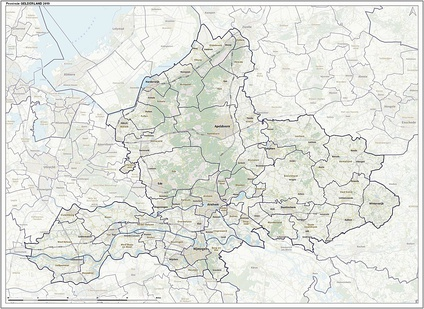 Municipalities of Gelderland (2019)