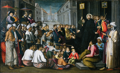 Saint Francis Xavier preaching in Goa (1610), by André Reinoso