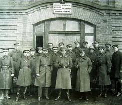 Soldiers from the Battalion of the Belarusians within the Lithuanian Armed Forces in Kaunas, 1921
