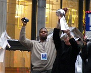 Michael Strahan, athlete and media personality (Texas Southern University)