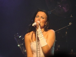 A part of Nightwish's original sound was the soprano vocals of Tarja Turunen, until her departure from the band in 2005.