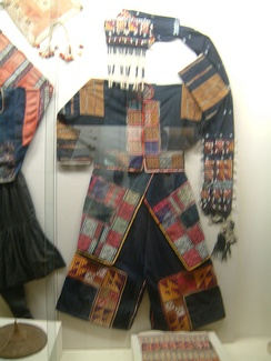 Traditional female clothing of the Yi (Lô Lô) people