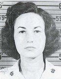 Bea Arthur 1943 USMC identity photo.
