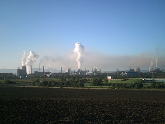 U. S. Steel Košice (in Slovakia) – a typical example of a heavy industry factory.