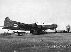 Squadron B-29 Superfortress at Chakulia Airfield, India[note 2]