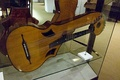 Harp guitar exhibited at Berlin.