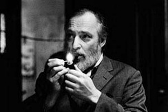 Danish painter, sculptor, ceramic artist, and author Asger Jorn, founding member of the Situationist International.