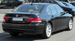 Facelift BMW 730d (Germany)