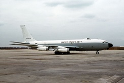 NKC-135A of the US Navy's Fleet Electronic Warfare Systems Group