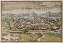 Montpellier in the 16th century
