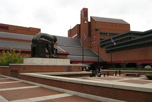 British Library in London, the largest in the world