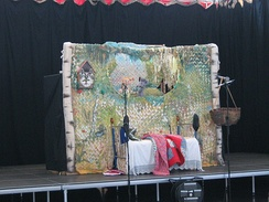 Performance of the Kstovo Puppet Theatre