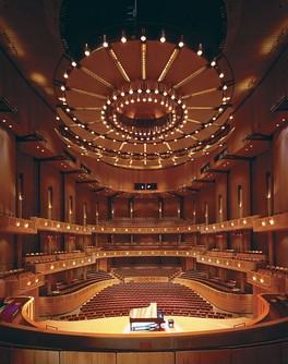The Chan Centre for the Performing Arts, designed by Bing Thom, B.Arch '66