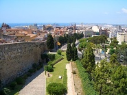 The city of Tarragona