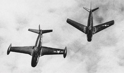 FJ-1 and FJ-2 in 1952