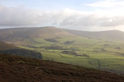 Fair Snape Fell (left) and Parlick (right) viewed from the west