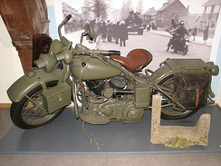 Harley-Davidson produced the WLC for the Canadian military