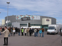 Hartwall Areena, Helsinki - host venue of the 2007 contest.
