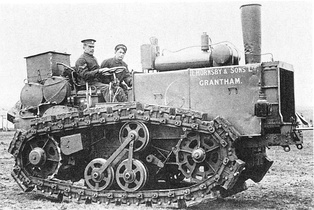 Hornsby Chain Tracked Tractor(1907 enhanced Version)