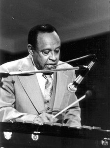 Lionel Hampton during a concert in Aachen (Germany) on May 19, 1977