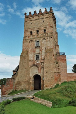 Lubart's Castle (Lutsk) was the seat of the medieval princes of Volhynia.