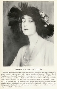 Mildred Harris c. 1920.