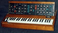 The Minimoog was one of the most popular synthesizers ever built
