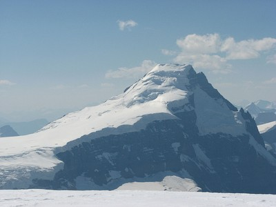 Mount Columbia on the British Columbia border is the highest summit of Alberta.